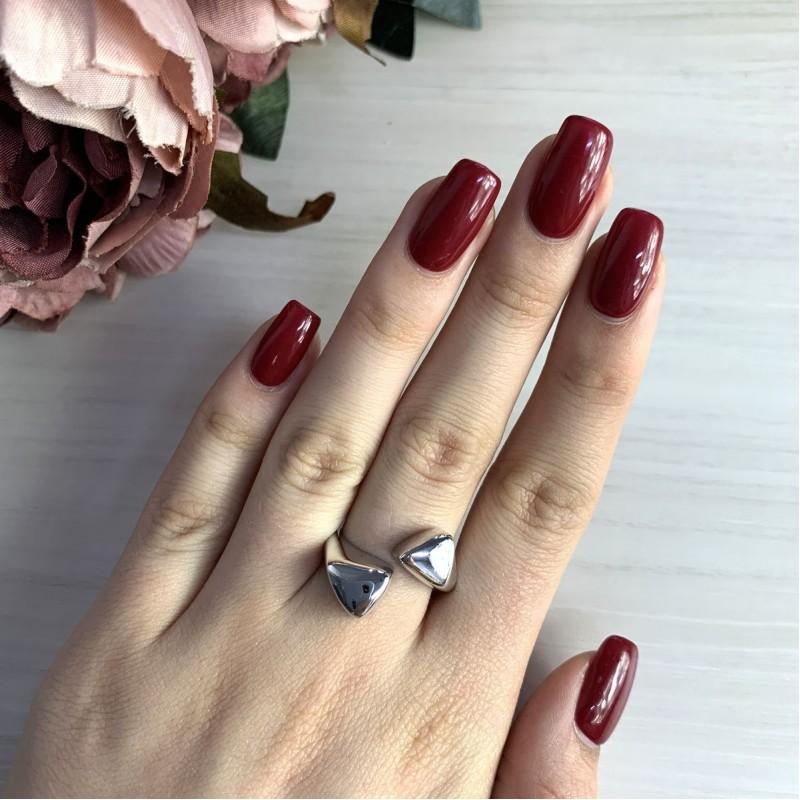 Серебряное кольцо SilverBreeze без камней (2031543) 17.5 размер
