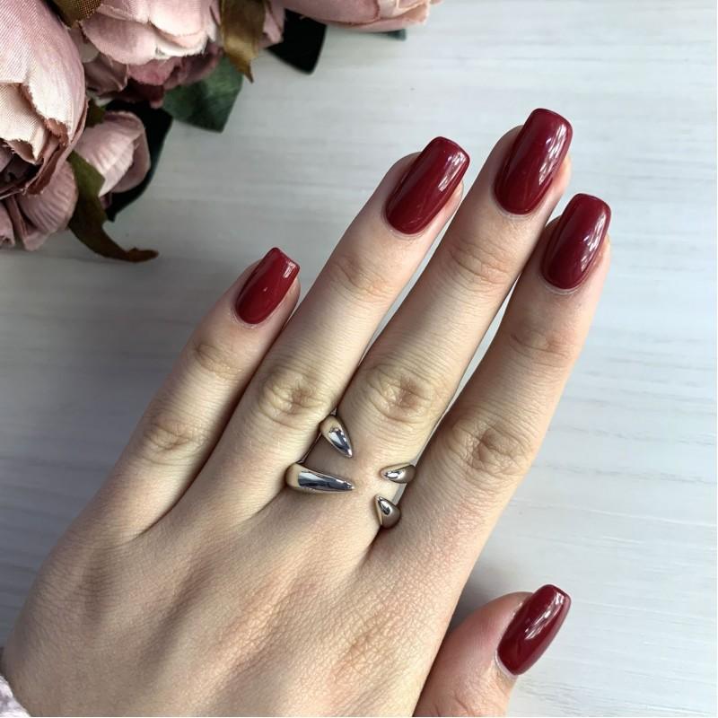Серебряное кольцо SilverBreeze без камней (2031383) 16.5 размер