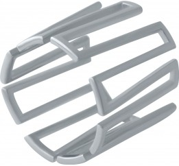 Серебряное кольцо SilverBreeze без камней (2030140) 15.5 размер
