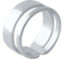 Серебряное кольцо SilverBreeze без камней (2030119) 17 размер