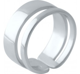 Серебряное кольцо SilverBreeze без камней (2030119) 16 размер