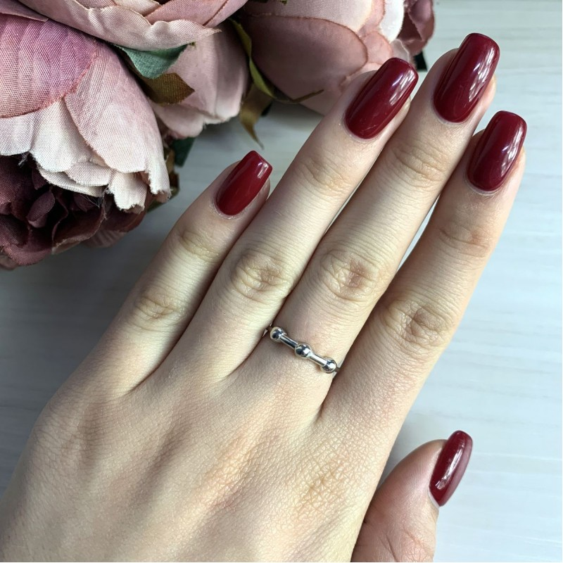 Серебряное кольцо SilverBreeze без камней (2030089) 16.5 размер