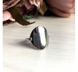 Серебряное кольцо SilverBreeze без камней (2030041) 17.5 размер