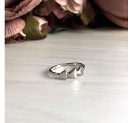 Серебряное кольцо SilverBreeze без камней (2030010) 16 размер