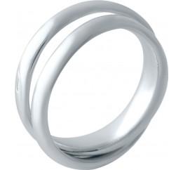 Серебряное кольцо SilverBreeze без камней (2029526) 17 размер