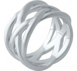 Серебряное кольцо SilverBreeze без камней (2029472) 19 размер
