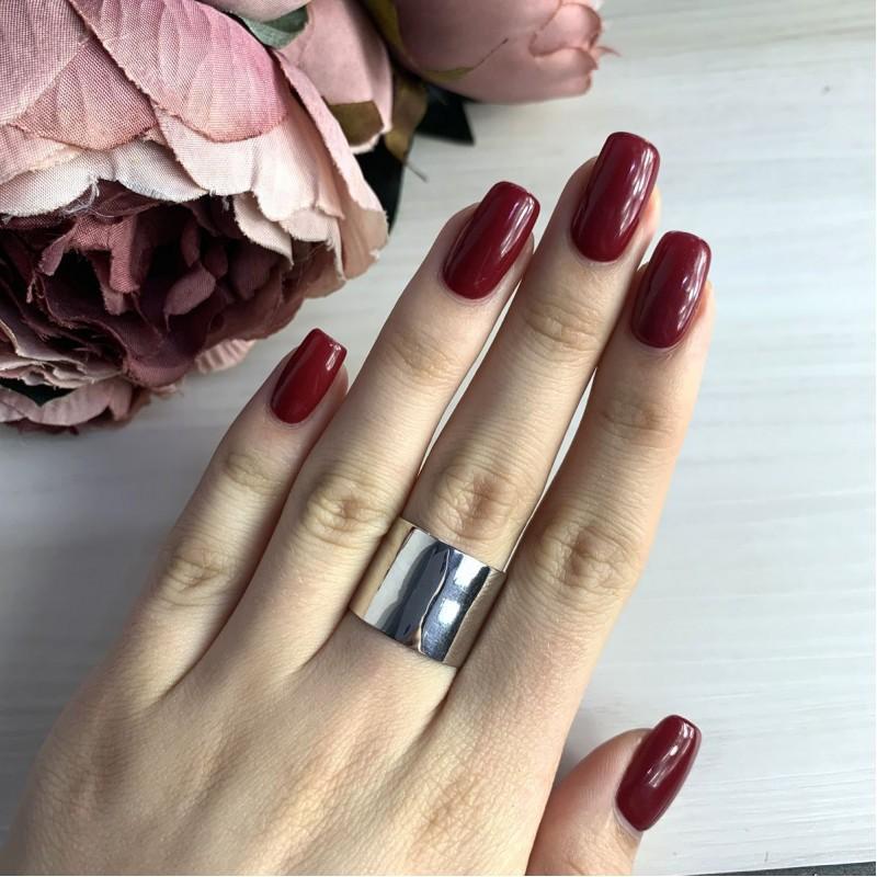 Серебряное кольцо SilverBreeze без камней (2029458) 16.5 размер
