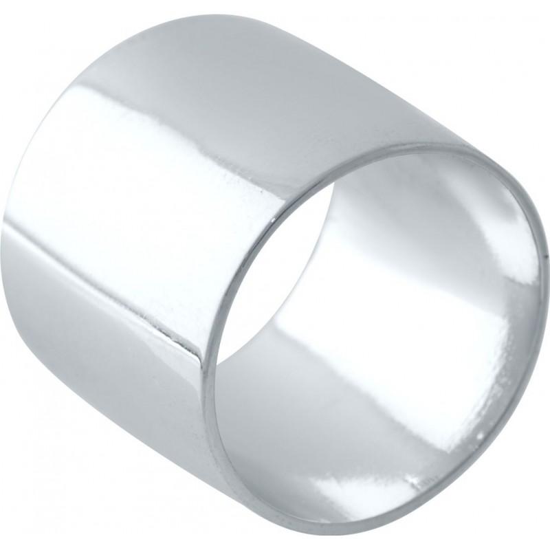 Серебряное кольцо SilverBreeze без камней (2029458) 16 размер