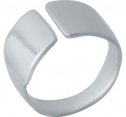 Серебряное кольцо SilverBreeze без камней (2022367) 17.5 размер