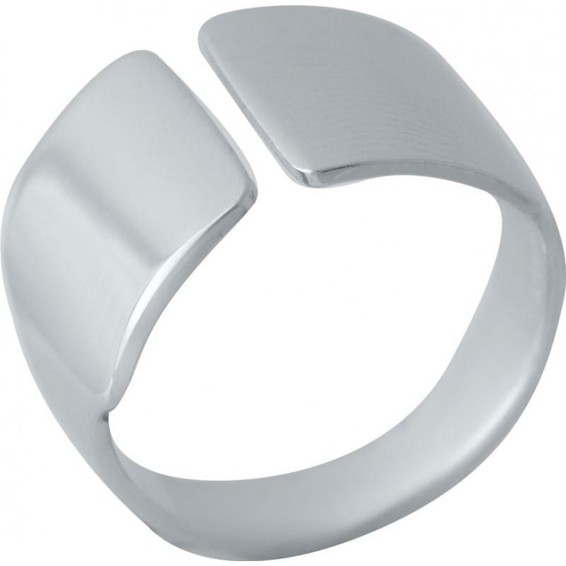 Серебряное кольцо SilverBreeze без камней (2022367) 16.5 размер