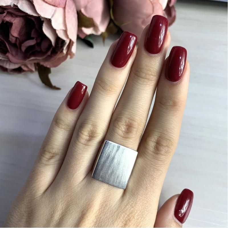 Серебряное кольцо SilverBreeze без камней (2022350) 17.5 размер