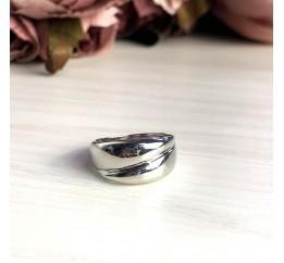 Серебряное кольцо SilverBreeze без камней (2022343) 19 размер