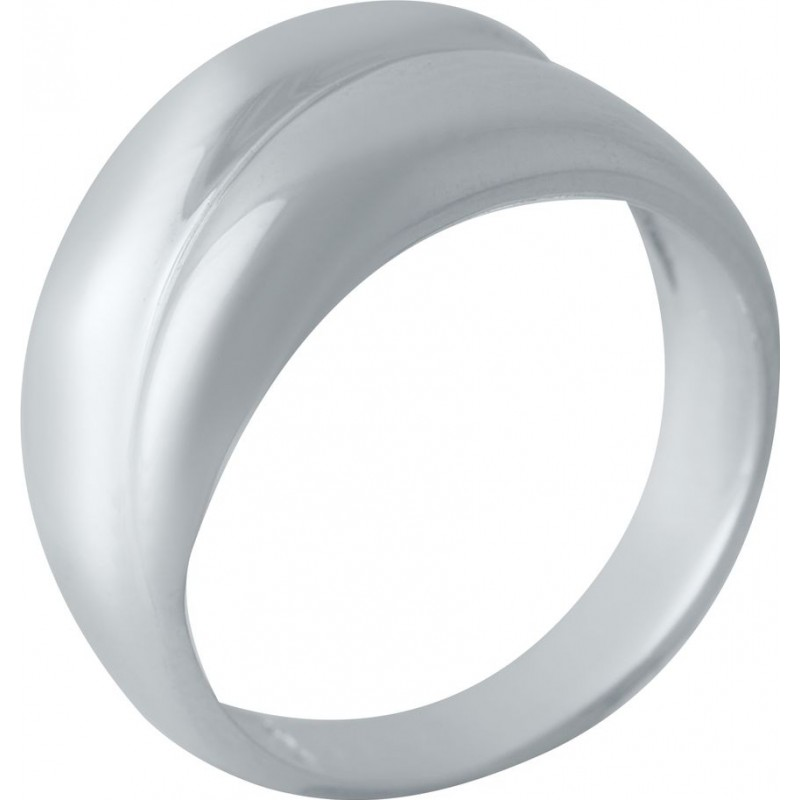 Серебряное кольцо SilverBreeze без камней (2022343) 18 размер