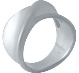 Серебряное кольцо SilverBreeze без камней (2022329) 17.5 размер