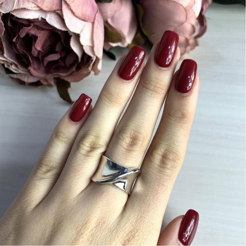 Серебряное кольцо SilverBreeze без камней (2022329) 16.5 размер