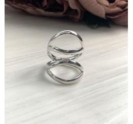 Серебряное кольцо SilverBreeze без камней (2016441) 17 размер