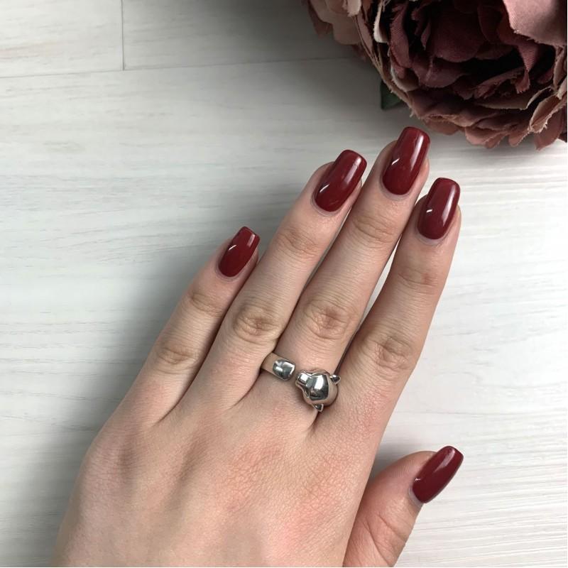 Серебряное кольцо SilverBreeze без камней (2016427) 18 размер