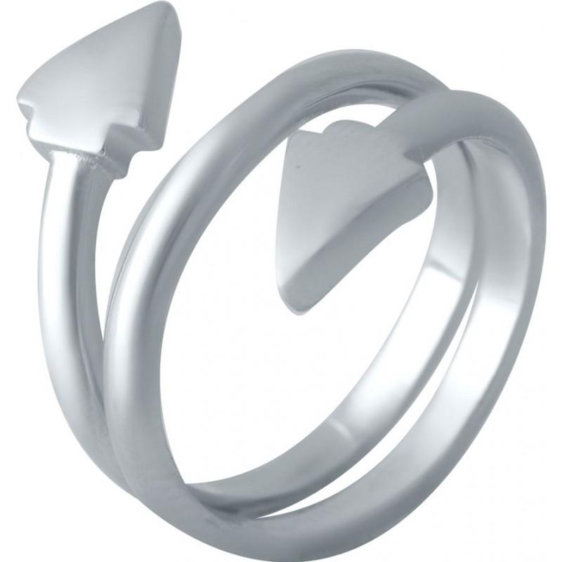 Серебряное кольцо SilverBreeze без камней (2016410) 16 размер