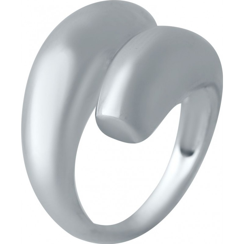 Серебряное кольцо SilverBreeze без камней (2016380) 17 размер