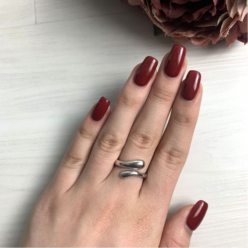 Серебряное кольцо SilverBreeze без камней (2016373) 16 размер