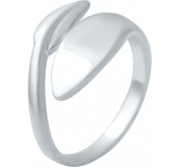Серебряное кольцо SilverBreeze без камней (2016366) 16 размер