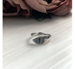 Серебряное кольцо SilverBreeze без камней (2016366) 15.5 размер
