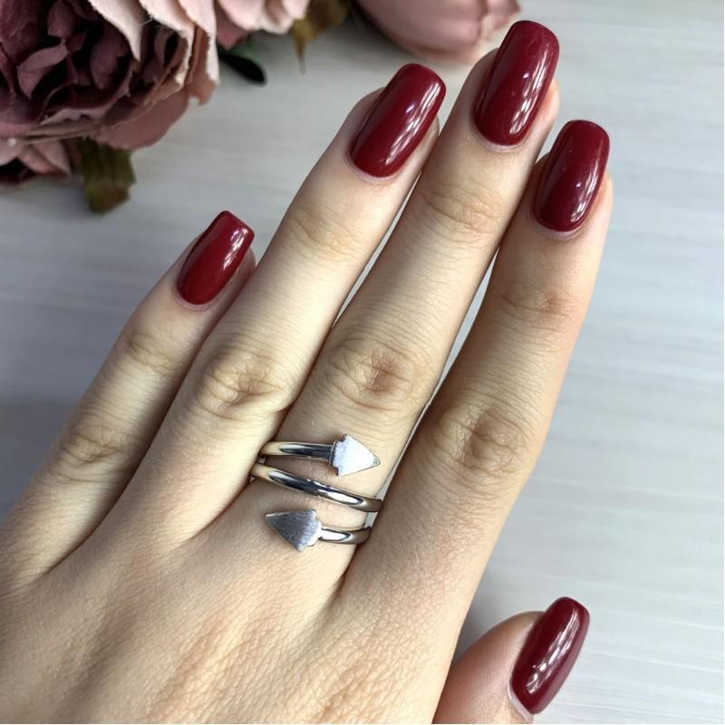 Серебряное кольцо SilverBreeze без камней (2016335) 17 размер