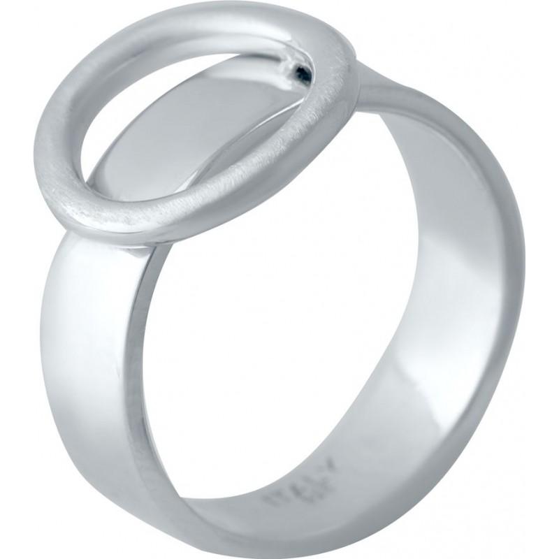 Серебряное кольцо SilverBreeze без камней (2016304) 16.5 размер