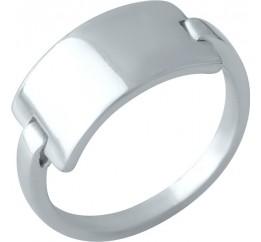 Серебряное кольцо SilverBreeze без камней (2000242) 17.5 размер