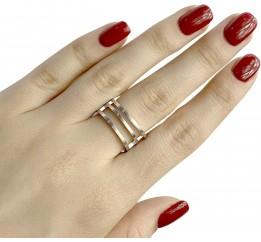 Серебряное кольцо SilverBreeze без камней (1957271) 16.5 размер