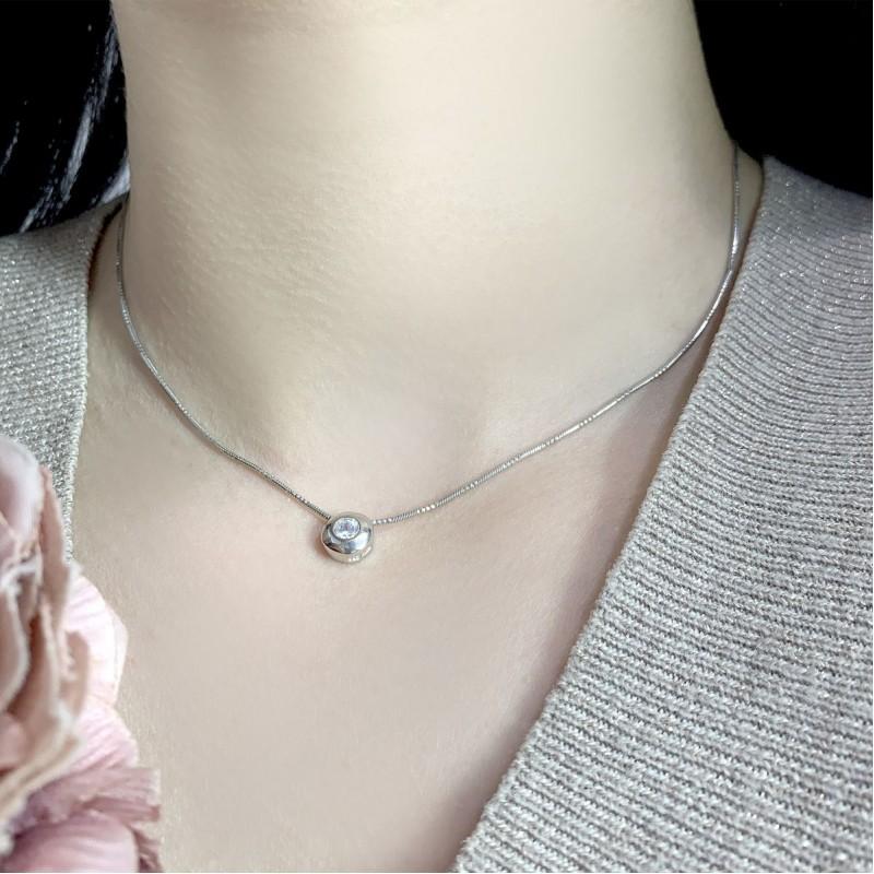 Серебряная подвеска SilverBreeze с фианитами (2036845)