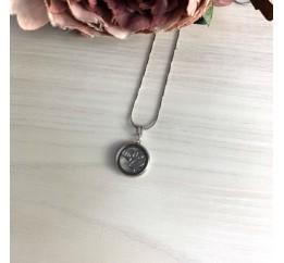 Серебряная подвеска SilverBreeze с фианитами (2032427)
