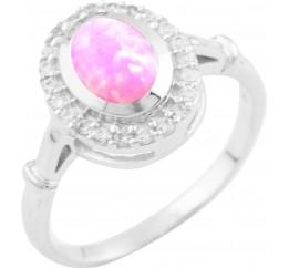 Серебряное кольцо SilverBreeze с опалом (0926650) 18.5 размер