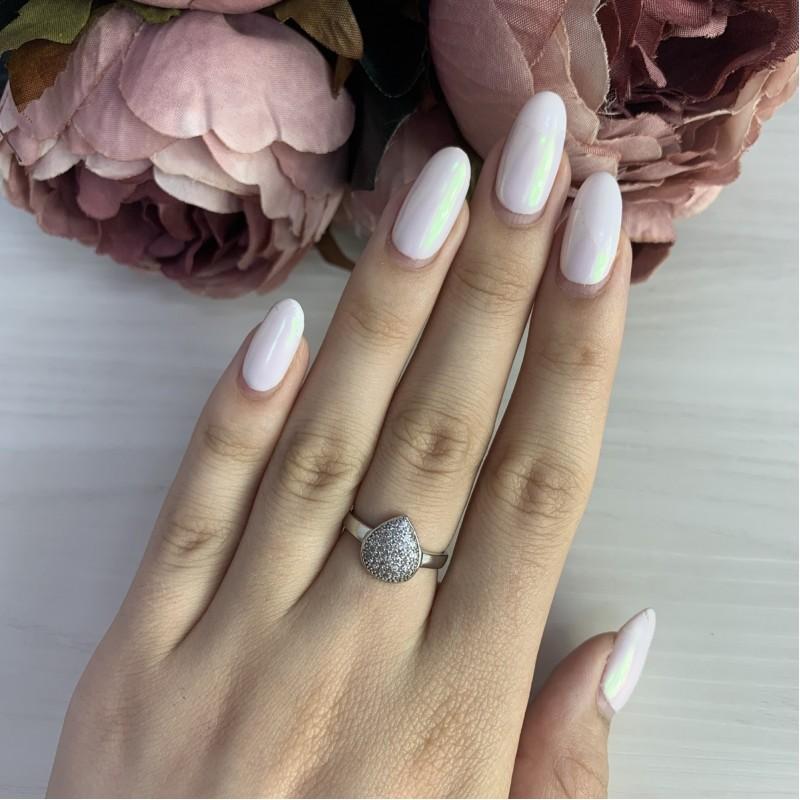Серебряное кольцо SilverBreeze с фианитами (0486574)