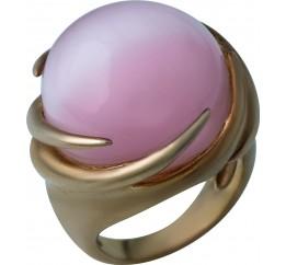 Серебряное кольцо SilverBreeze с кошачим глазом (0860916) 17 размер