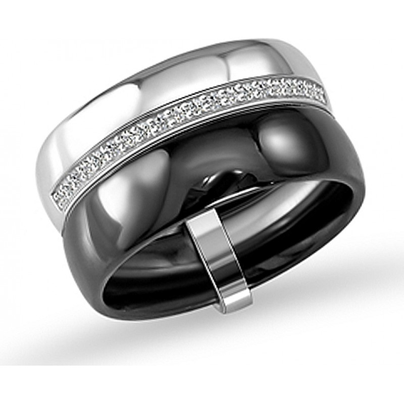 Серебряное кольцо SilverBreeze с , керамикой (1577141) 16.5 размер