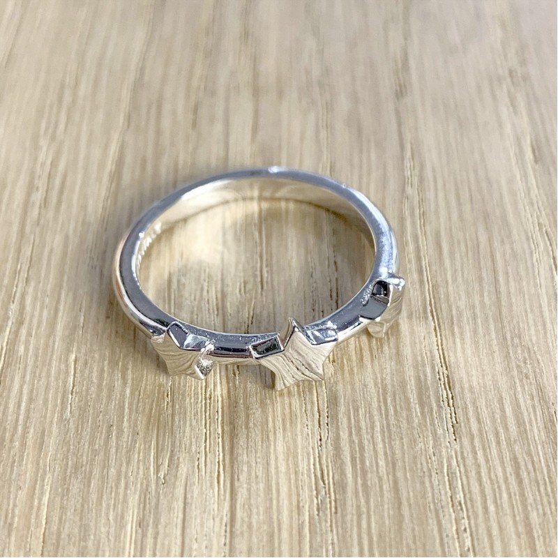 Серебряное кольцо SilverBreeze без камней (1920053) 18 размер