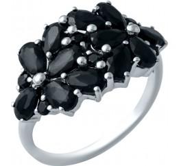 Серебряное кольцо SilverBreeze с натуральным сапфиром (1933114) 18 размер