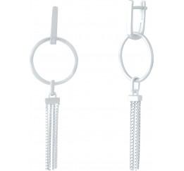 Серебряные серьги SilverBreeze без камней (1951323)