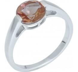 Серебряное кольцо SilverBreeze с Султанит султанитом (1960240) 17 размер