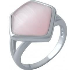 Серебряное кольцо SilverBreeze с кошачим глазом (1974261) 17 размер