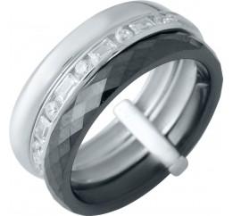 Серебряное кольцо SilverBreeze с керамикой (1978085) 17.5 размер