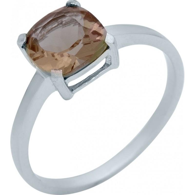 Серебряное кольцо SilverBreeze с Султанит султанитом (1983935) 17 размер