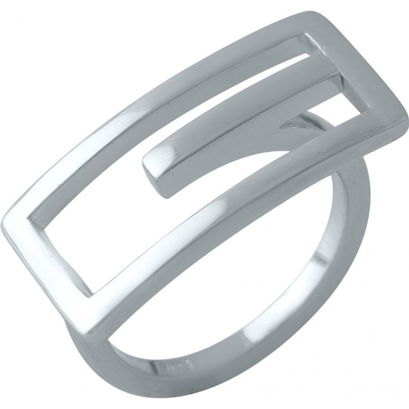 Серебряное кольцо SilverBreeze без камней (1998458) 16.5 размер