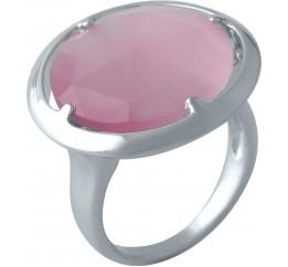 Серебряное кольцо SilverBreeze с кошачим глазом (2003045) 17.5 размер