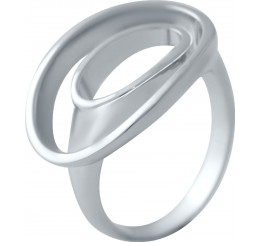 Серебряное кольцо SilverBreeze без камней (2006107) 18 размер