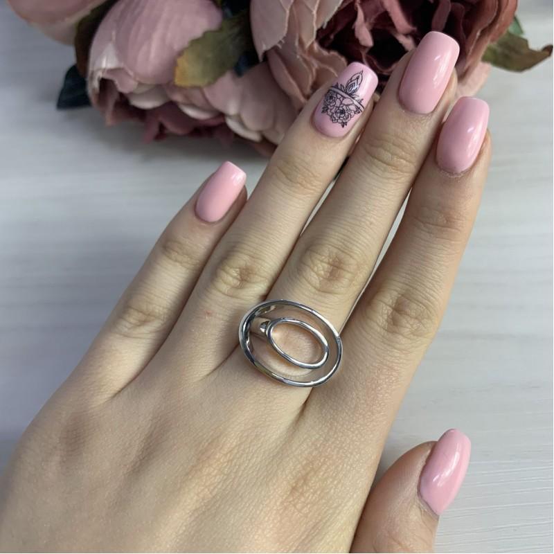 Серебряное кольцо SilverBreeze без камней (2006107) 18.5 размер
