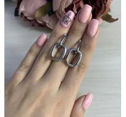 Серебряные серьги SilverBreeze без камней (2006121)