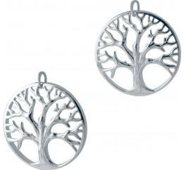 Серебряная подвеска SilverBreeze без камней (2006596)