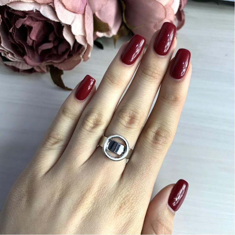Серебряное кольцо SilverBreeze без камней (2016304) 18 размер